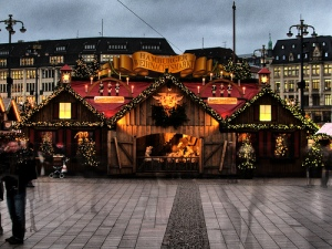 Mercato di Natale ad Amburgo